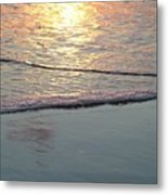 Light On The Water Metal Print
