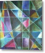 Light Patterns 2 Metal Print