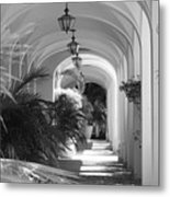 Lighted Arches Metal Print
