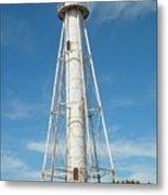 Lighthouse At Boca Grande Metal Print