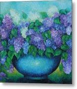 Lilacs No 3. Metal Print