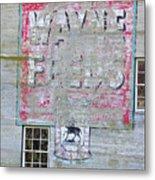 Lime Valley Mills Metal Print
