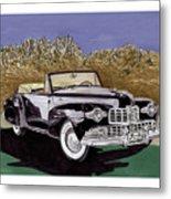 Lincoln Continental Mk I Metal Print