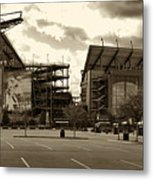 Lincoln Financial Field Metal Print by Jack Paolini