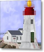 Lindesnes Norway Lighthouse Metal Print