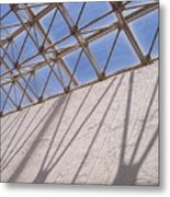 Lines And Shadows IIi Metal Print