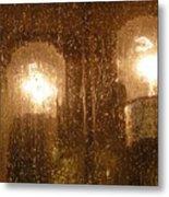 Lite Rain Metal Print