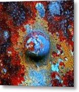 Little Blue Planet Metal Print