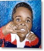 Little Boy Blue  Metal Print