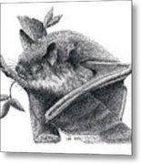 Little Brown Bat Metal Print