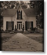 Little House On Main St. Metal Print