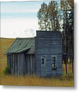Little Rustic Shack Metal Print