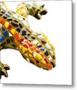 Lizard Souvenir By Antony Gaudi Metal Print