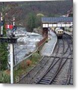 Llangollen Train Station Metal Print