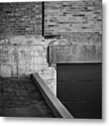 Load Ing Dock Metal Print