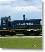 Locomotive For Titan Rockets At Cape Canaveral In  Florida Metal Print