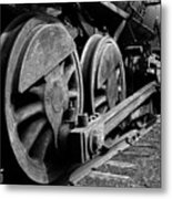 Locomotive Metal Print