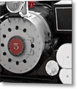 Locomotive Number Five Metal Print