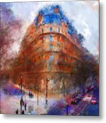 London Central Metal Print by Marilyn Sholin