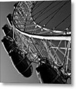 London Eye Metal Print by David Pyatt