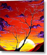 Lonely Soul By Madart Metal Print