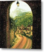 Long Road Home  Metal Print