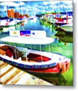 Loose Cannon Water Taxi 1 Metal Print by Lanjee Chee