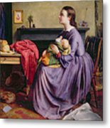 Lord - Thy Will Be Done Metal Print by Philip Hermogenes Calderon