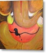 Lord Ganesh Ji Metal Print