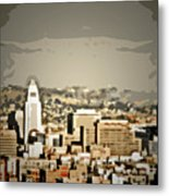 Los Angeles City Hall Metal Print