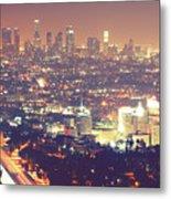 Los Angeles Metal Print by Dj Murdok Photos