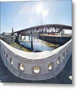 Los Angeles River Washington Avenue Bridge South Metal Print