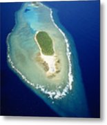 Losiep Atoll Metal Print by Mitch Warner - Printscapes
