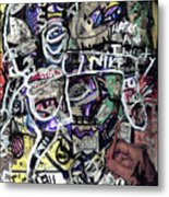 Losing Face Value Metal Print by Robert Wolverton Jr