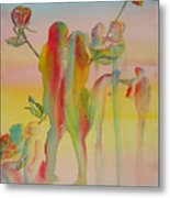 Love Is Eternal Metal Print