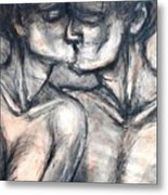 Lovers - Kiss Metal Print