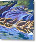 Low Tide On Cross Island Metal Print