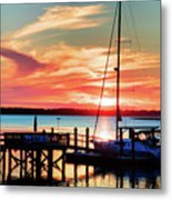 Lowcountry Leisure Metal Print