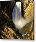 Lower Falls 2 Metal Print by Marty Koch