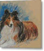 Loyal Companion Metal Print