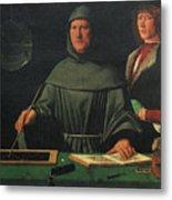 Luca Pacioli, Franciscan Friar Metal Print
