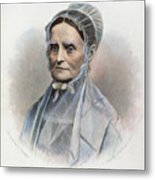 Lucretia Coffin Mott Metal Print by Granger