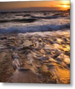 Lumaha'i Dawn Metal Print by Mike  Dawson