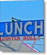 Lunch Metal Print by Beth Saffer