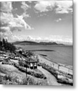 Lyme Regis And Lyme Bay, Dorset Metal Print by John Edwards