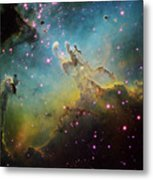M16 The Eagle Nebula Metal Print
