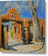Mabel's Gate Metal Print