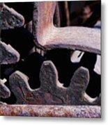 Machinery Metal Print