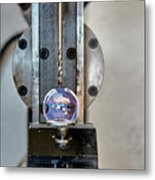 Machinists Drill With Precision Metal Print