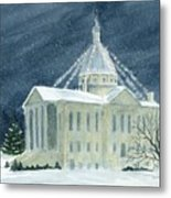Macoupin County Illinois Courthouse Metal Print
